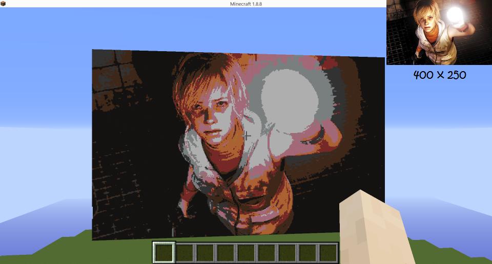 C Minecraft Pixel Art Generator Codingvision